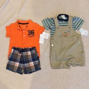 Two baby outfits